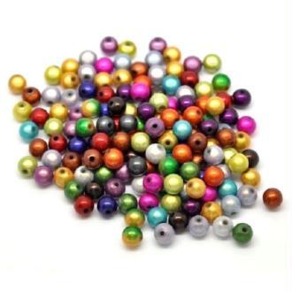 20 Perles miracle magique - Diam: 6 mm ronde - Mixte