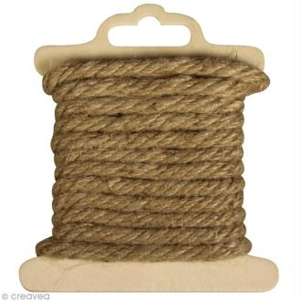 Cordon de jute - 5 mm x 2 m