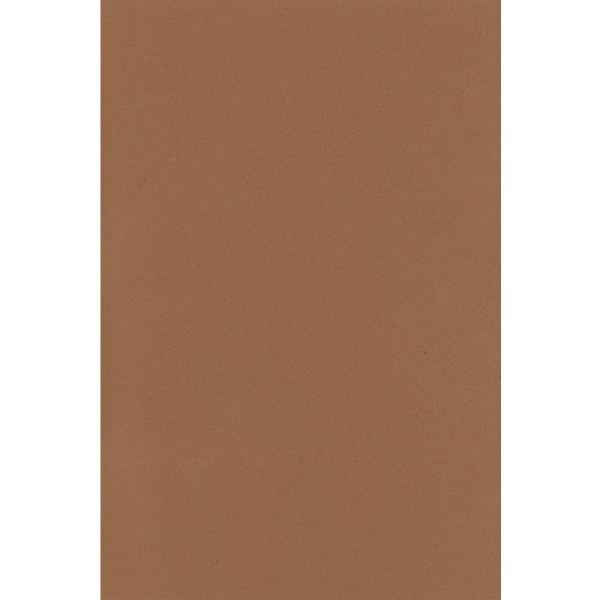 Feuille de mousse Crepla 20 x 30 cm marron - Photo n°1