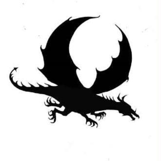 Tampon clear Lavinia Stamps - Mini dragon