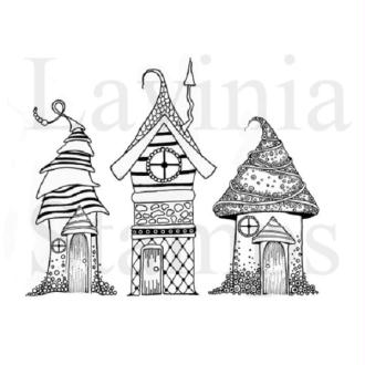 Tampon clear Lavinia Stamps - Zen Houses