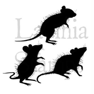 Tampon clear Lavinia Stamps - trois souris