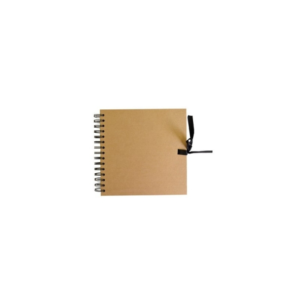 Album scrapbook 20 kraft naturel - Photo n°1