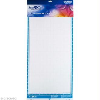 Accessoire Scan'n'cut - Support adhésif à faible adhérence 30,5 x 61 cm