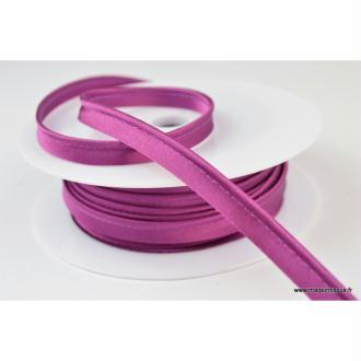 Passepoil satin 10 mm coloris violet1175
