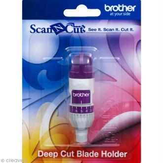 Accessoire Scan'n'cut - Support à lame de découpe profonde (sans la lame)