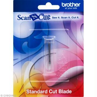 Accessoire Scan'n'cut - Lame de découpe standard (sans le support)