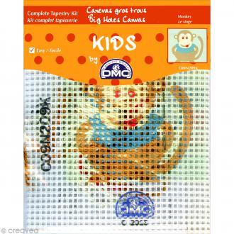 Kit canevas pour enfant - Le Singe