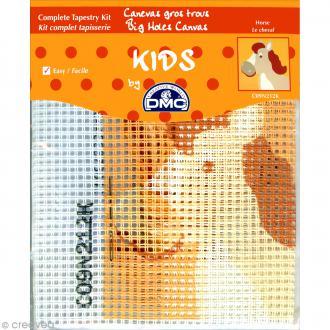 Kit canevas pour enfant - Le cheval