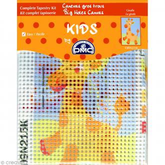 Kit canevas pour enfant - La girafe