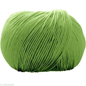Fil DMC Natura Vert chartreuse n°48 - 50 gr