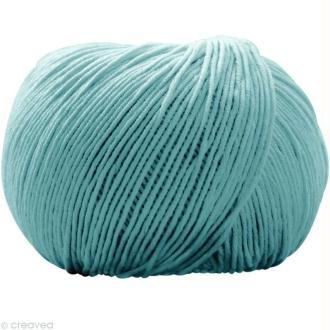 Fil DMC Natura Bleu turquoise n°49 - 50 gr