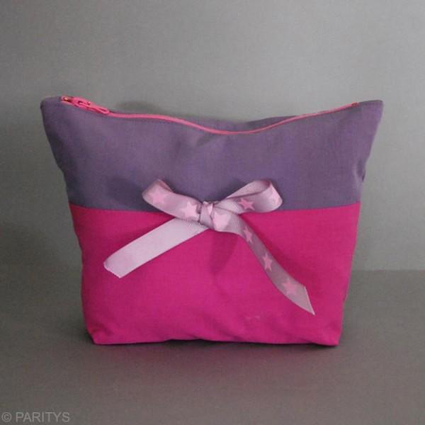 Tissu Frou Frou coton uni - A la coupe par 10 cm (sur mesure) - Photo n°2