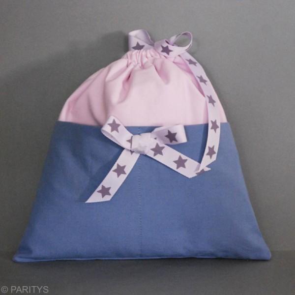Tissu Frou Frou coton uni - A la coupe par 10 cm (sur mesure) - Photo n°4