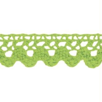 Ruban de dentelle en tissu adhésif - Vert