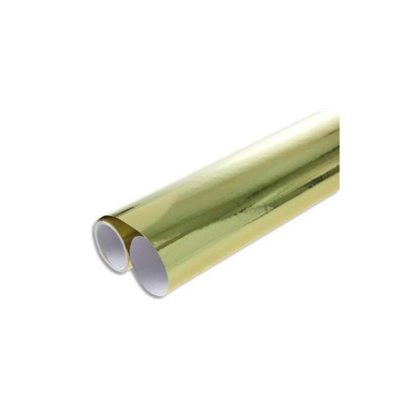 CLAIREFONTAINE Rouleau 2x0,7m de papier métal une face coloris argent MAILDOR - Photo n°1