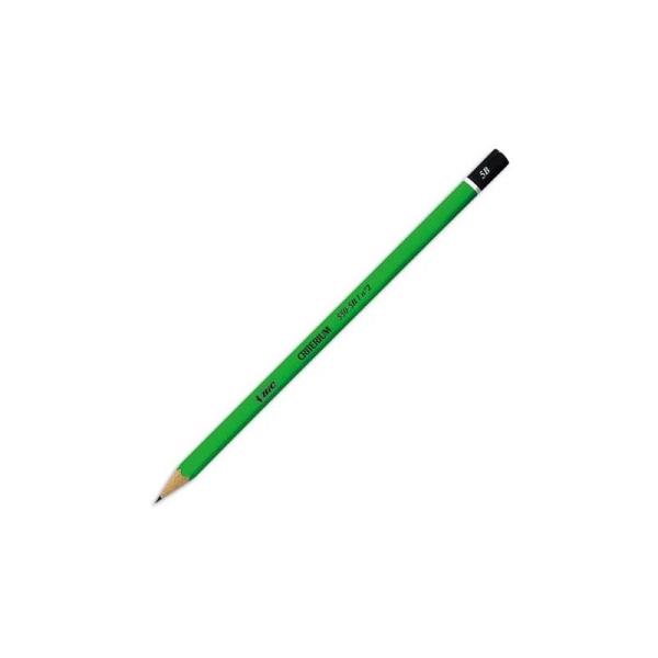 Crayon graphite tête trempée mine 5B BIC CONTE CRITERIUM 550 - Photo n°1