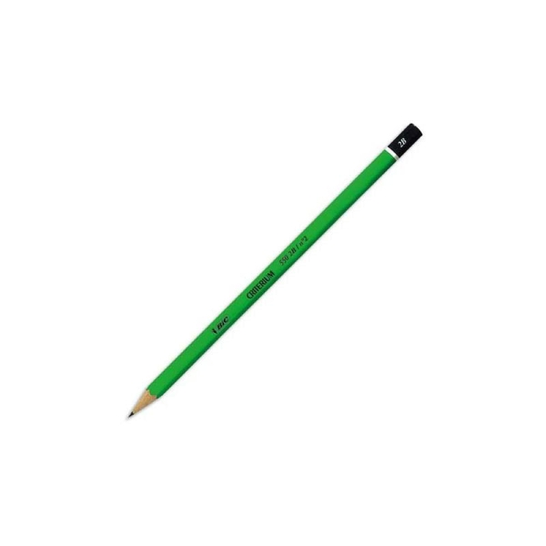 Crayon graphite tête trempée mine 2B BIC CONTE CRITERIUM 550 - Photo n°1