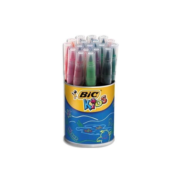 Feutre de coloriage Bic Visaquarelle pot de feutres dessin coloris assortis - Photo n°1