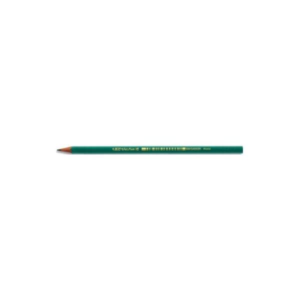 Crayon graphite tête coupée mine HB en résine de synthèsse BIC CONTE EVOLUTION - Photo n°1