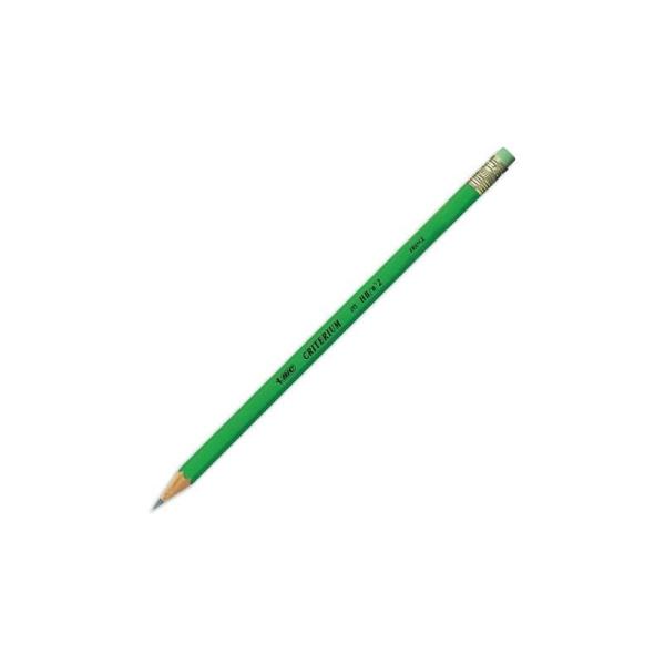 Crayon graphite tête gomme mine HB BIC CONTE CRITERIUM 255 - Photo n°1