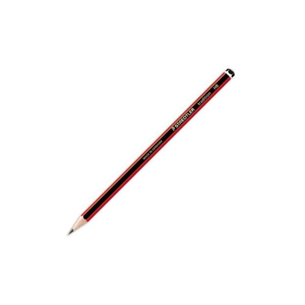 Crayon graphite tête trempée mine 2B Staedtler TRADITION 110 - Photo n°1