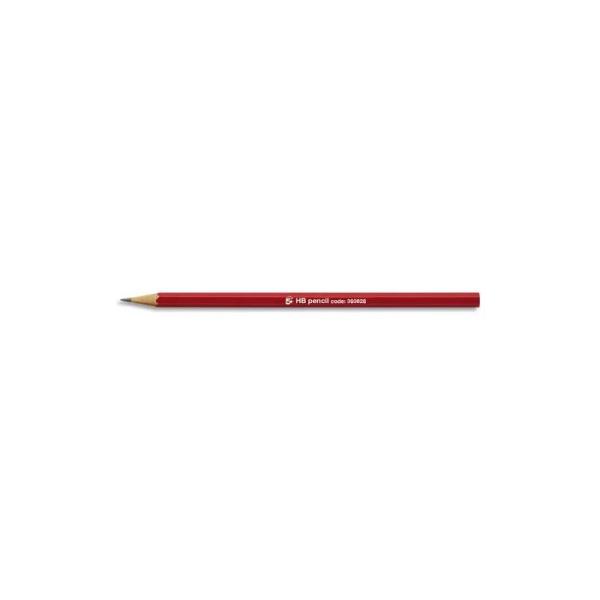 Crayon graphite Eco 5* tête coupée mine HB - Photo n°1