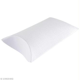 Boîte cadeau à décorer 6 x 8 cm - blanc - 6 pcs