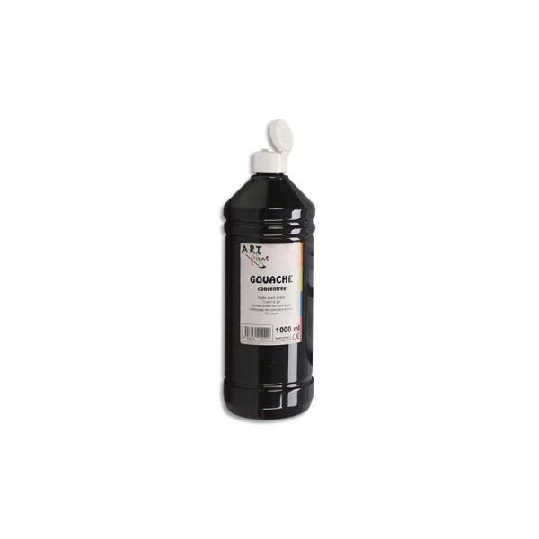 Gouache concentrée Art Plus flacon de 1 litre noire - Photo n°1