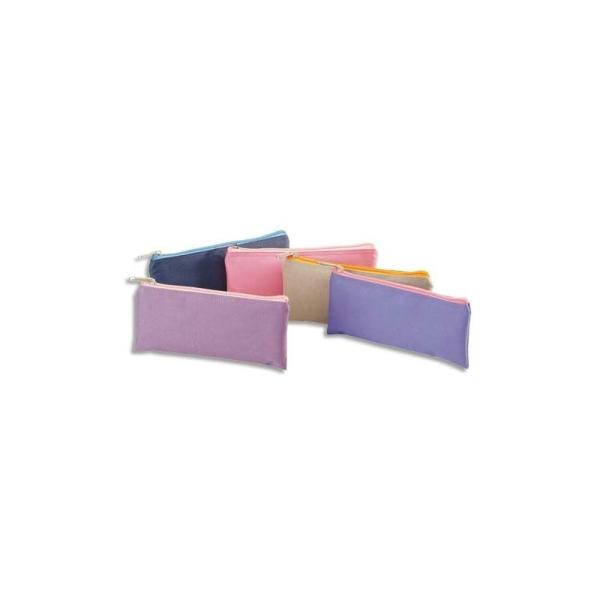 ACCESSOIRES Fourre tout plat en polyamide 21 cm bicolore - Photo n°1