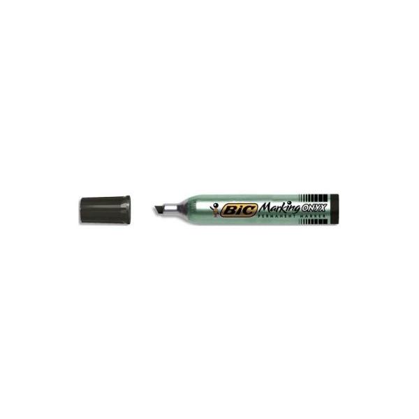Marqueur effaçable tableau blanc à sec flipchart pointe ogive, encre noire Schneider Maxx 110 - Photo n°1