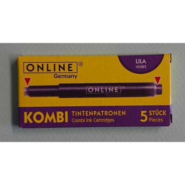 Cartouches violet Kombi ONLINE - Photo n°1