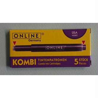 Cartouches violet Kombi ONLINE