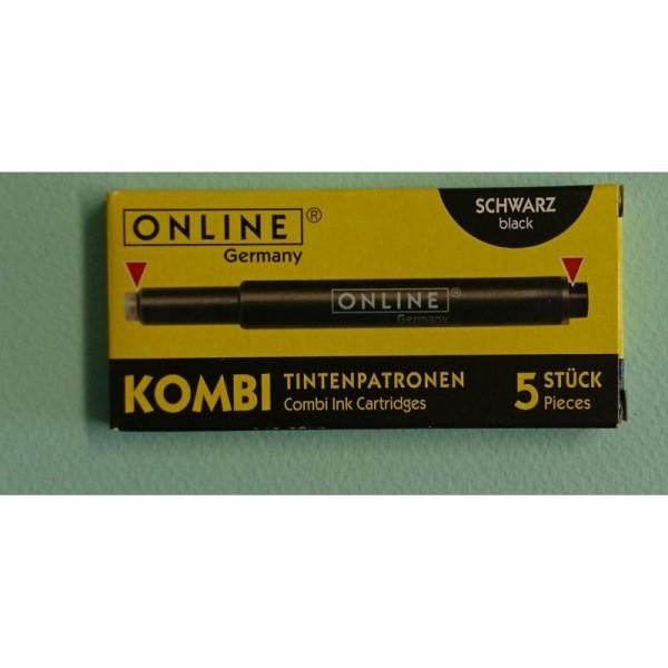 Cartouches noir Kombi ONLINE - Photo n°1