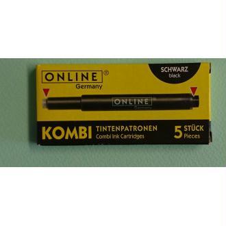 Cartouches noir Kombi ONLINE
