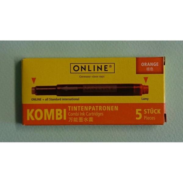 Cartouches orange Kombi ONLINE - Photo n°1
