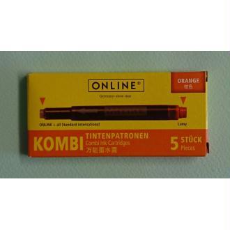 Cartouches orange Kombi ONLINE