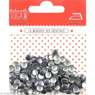 Clou thermocollant rond - Gris Anthracite - 5 mm x 300