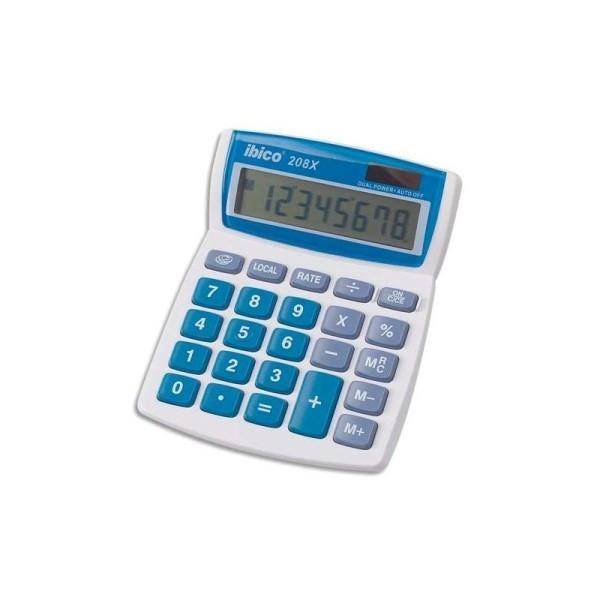 Calculatrice de bureau 8 chiffres Ibico 208X - Photo n°1