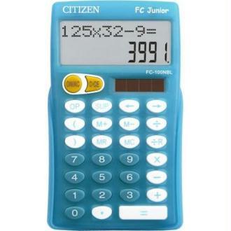 Calculatrice école primaire FC Junior Plus Bleu Citizen