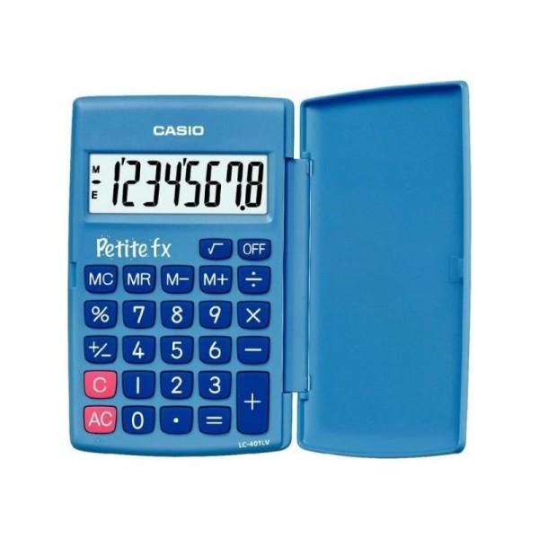 Calculatrice école primaire Petite FX bleu CASIO - Photo n°1