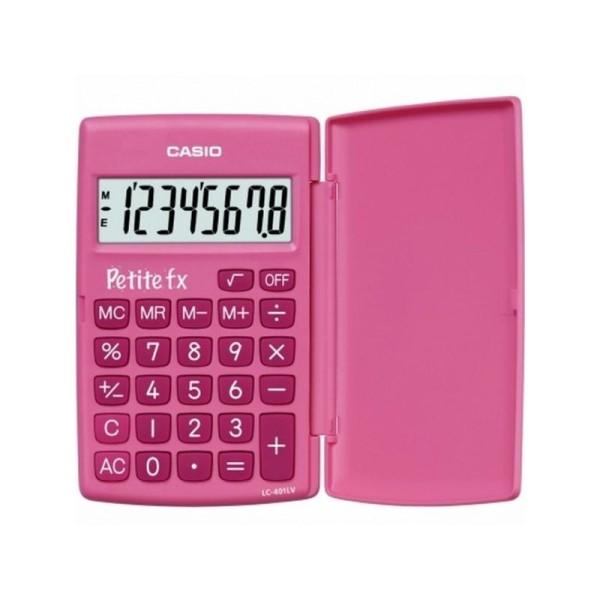 Calculatrice école primaire Petite FX rose CASIO - Photo n°1
