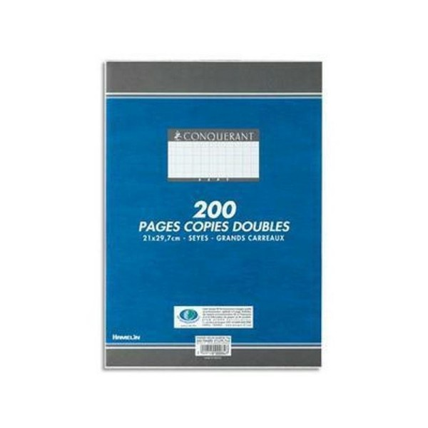 Copies doubles A4 200P seyes 70G HAMELIN - Photo n°1