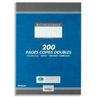 Copies doubles A4 200P seyes 70G HAMELIN