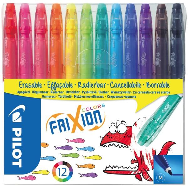 Pochette de feutres effaçables Pilot - FriXion Color - 12 pcs - Photo n°1