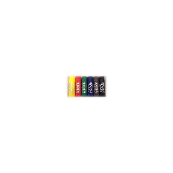 Color sticks gouache solide 6 couleurs - Photo n°2