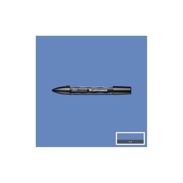 Brushmarker - bleu de chine b736 - Photo n°1
