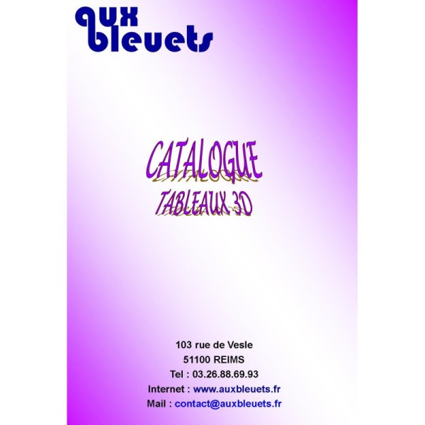 Catalogue 3D - Janvier 2020 - Photo n°1