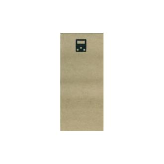 Plaque de bois 20x50 + 2 attaches