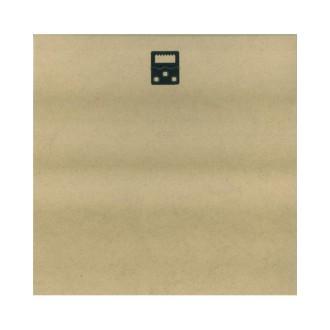 Plaque de bois 30x30 cm + 1 attache